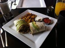 Steak Breakfast Burrito